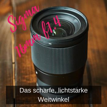 Sigma 16mm f1.4 – SCHARF