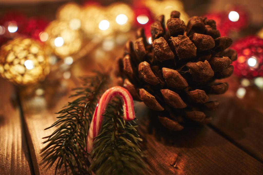 Bessere Weihnachtsfotos - warmes Bokeh