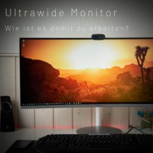 Curved Monitor für Videobearbeitung